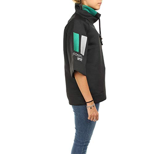 Short Originals Black Sleeve Women's Sweatshirt Sweater Retro Eqt x Equipment Adidas large wEq1Ud1