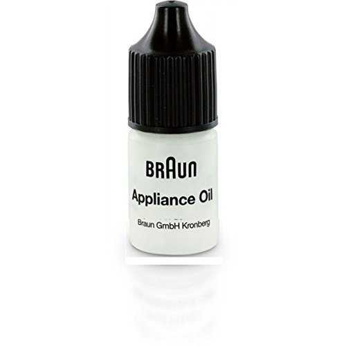 Braun Electric Shaver 7002000 Lubricating Appliance Oil 7ml (1 x 7ml Bottle)