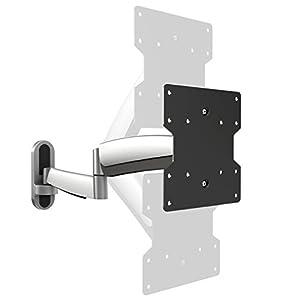 ricoo wandhalterung tv schwenkbar neigbar gasfeder monitorhalterung wand s2722 h henverstellbar. Black Bedroom Furniture Sets. Home Design Ideas