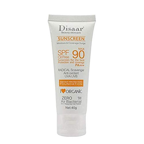 Sunscreen Cream SPF 90 Sunblock Moisturizing Skin Protect Sunblock Face Care Prevents Skin Damage, Removes Pigmentation 40g