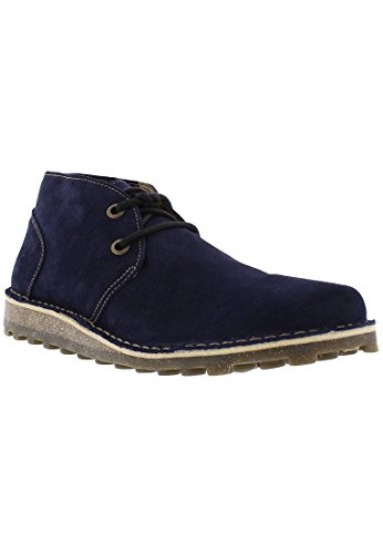 Desert London Dark Boot Casual Fly Blue Mime tdwxXqtOC