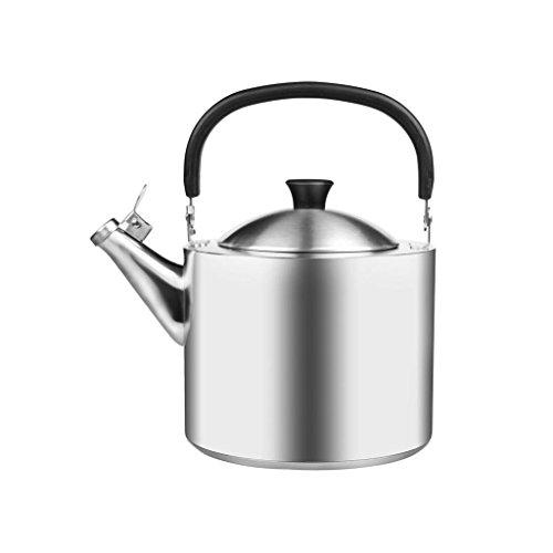 Xuan - worth having Accueil 304 Bouilloire en acier inoxydable Cuisinière à induction plus épaisse Gaz Chaudière générale Cuisine Restaurant Sifflet automatique 3.5L