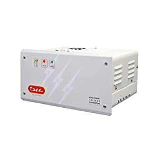 CAPRI CA 130-100 ITD Electronic Voltage Stabilizer for Double Compressor Refrigerator/Deep Freezers/Water Coolers with…