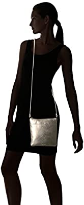 Calvin Klein Classic Pebble Key Item Top Zip Crossbody