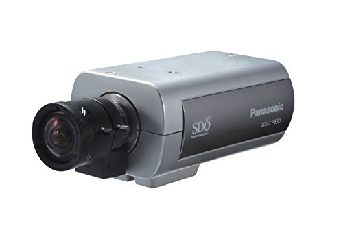 Panasonic Super Dynamic 6 Day/Night Camera with ABS and ABF (NTSC) WV-CP630