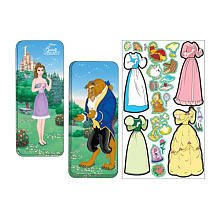 Disney Princess Beauty & the Beast Magnetic Paper Dolls Collectors Series (Paper Doll Clothes)
