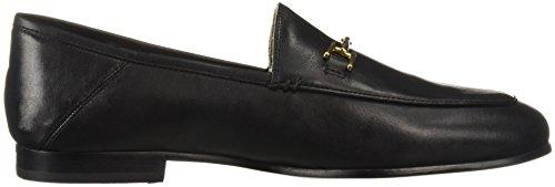 Edelman Women's Sam Leather Black Loraine Loafer 6Z5d5qw