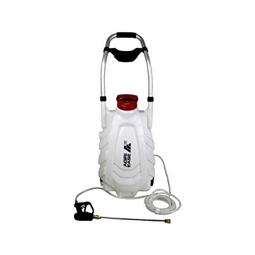 AgriEase Lithium-Ion Deluxe Garden Wheel Sprayer 8 Gal Battery Operated | 90.709.030