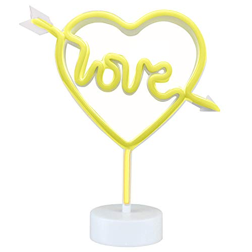 Neon Light Sign,Neon Lamps,Marquee Battery or USB Operated Table Led Ligths Wall Decoration for Girls Bedroom,Living Room, Christmas,Party as Kids Gift (Have Love in My Heart) by AIZESI