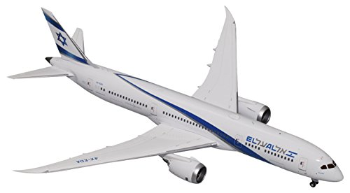 GEMINI Gemini200 El AL Israel Airlines B787-9 Dreamliner 4X-EDA 1: 200 Scale Diecast Model Airplane Vehicle