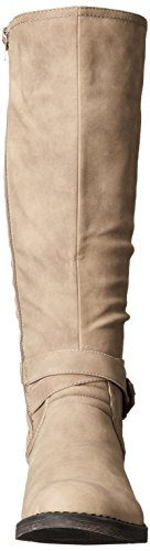 Call It Spring Womens Yeriwiel Riding Boot Taupe to5ZO