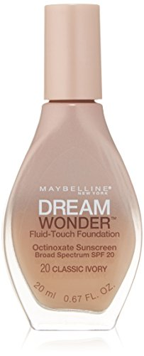 Maybelline New York Dream Wonder Fluid-Touch Foundation, Classic Ivory, 0.67 Fluid Ounce