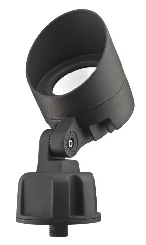 Lithonia Lighting OLB F 8 50K DDB M6 Bullet LED 5000K Floodlight, Black - Location Mall America Of