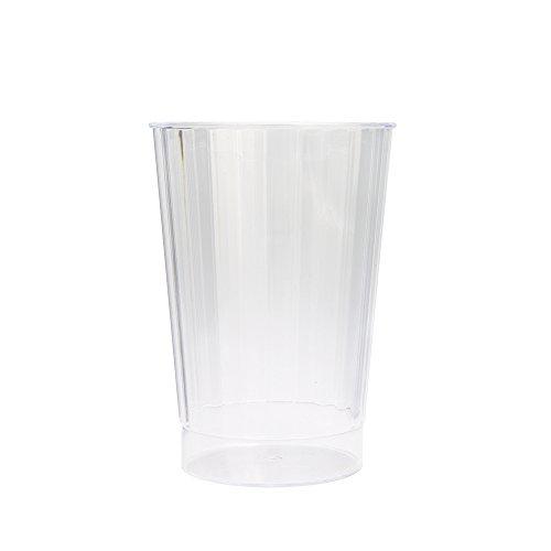 12oz Clear Plastic Tumblers 8ct