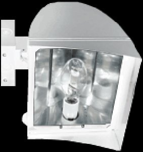 FXLH250XPSQW/PC2 Rab Lighting FLEXFLOOD XL 200W MH PSQT HPF PULSE START WALL MNT + 277V PC ()