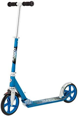 Razor A5 Lux Kick Scooter Ffp , Blue Renewed