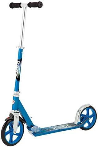 Razor A5 LUX Kick Scooter – Blue Renewed