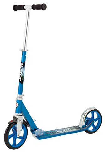Razor A5 Lux Kick Scooter (Ffp), Blue (Renewed) (Lux A5 Scooter)