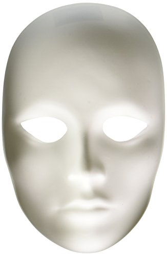 Creativity Street Plain Plastic Feminine Mask ()