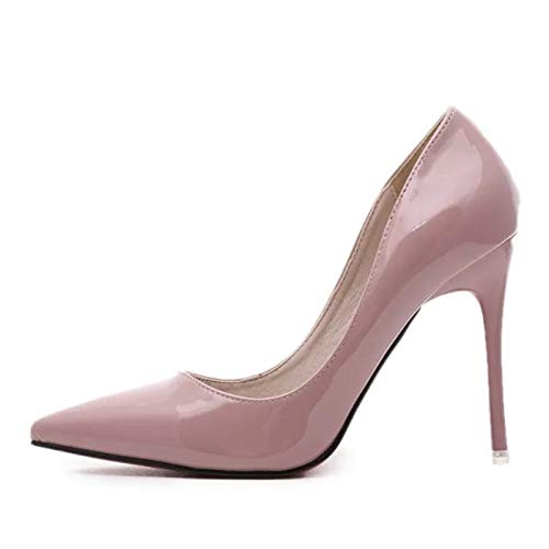 Mujer Heeled Mujer Zapatillas Nightclub para alto High de Pink Yukun Ladies tacón Super Stiletto Zapatillas para Nightclub zapatos YqnvxfwZ41
