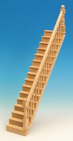 Geradläufige Treppe geradläufige treppe für das puppenhaus bausatz amazon de spielzeug