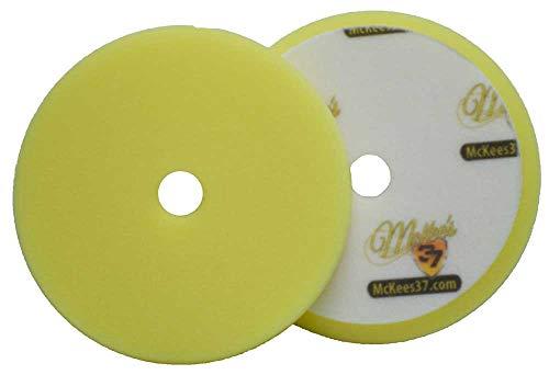 McKee's 37 MK37-52575-1610 Redline Yellow Foam Cutting Pad (5.75 Inch)