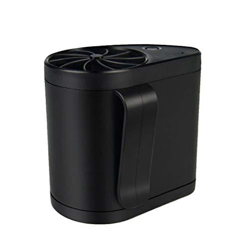 ❤Lemoning❤ Mini Portable Waist Fan USB Rechargeable Cool Air Hand Held Travel Blower Cooler ()