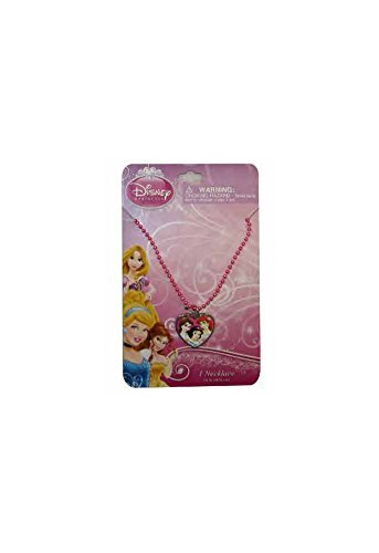 Disney Princess Baby Girls Dress Up Accessory - Heart Bead Necklace