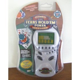 (Ultimate Texas Hold Em Poker Showdown - Electronic Handheld Game by MGA)