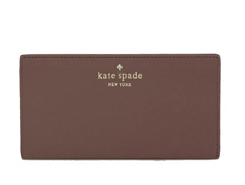 Kate Spade New York 'Cobble Hill' Stacy Leather Continental Wallet, French Grey