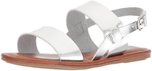 MIA WoMen Addison Flat Sandal Silver