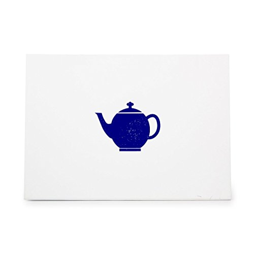 Teapot Cafe Drink Kettle Kitchen Style 4404, Rubber Stamp Shape great for Scrapbooking, Crafts, Card Making, Ink Stamping Crafts