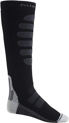Burton Men's Performance + Midweight Sock, True Black, Medium