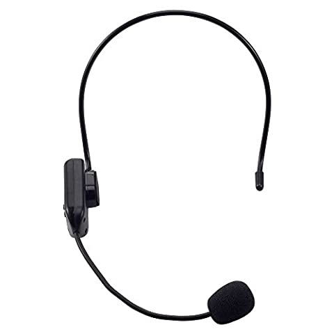 30m Remote Wireless FM Transimitter Head-Mounted Microphone Headset (Iphone 5 C Unlocked Price)