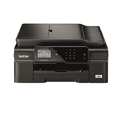 Brother Printer MFCJ650DW Wireless Color Printer with Scanner