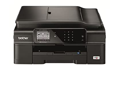 Amazoncom Brother Printer Mfcj650dw Wireless Color Printer With