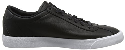 Nike Men's Match Classic Leather Trainers, Black (Black/Black), 6 UK 40 EU