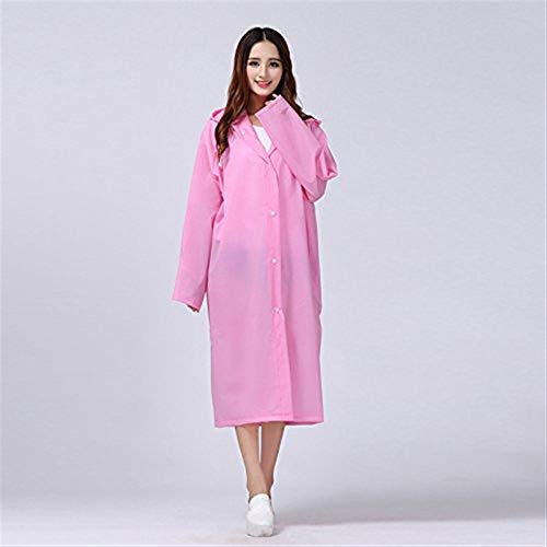 Yellow Rainwear Young Ed Eva Rain Cappuccio Emergency Targogo Jacket Fashion Raincoat Poncho Rosa Waterproof Con wORaxqHS