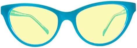Retro Eyeworks Beverly Computer Glasses 52-17 MM (2.5x, Blue)