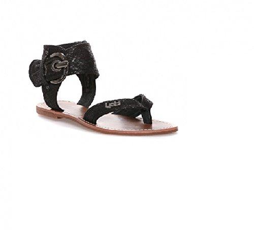 43a1271a787870 LPB Shoes Sandale THALIE Noir - Psychic (37): Amazon.fr: Chaussures ...