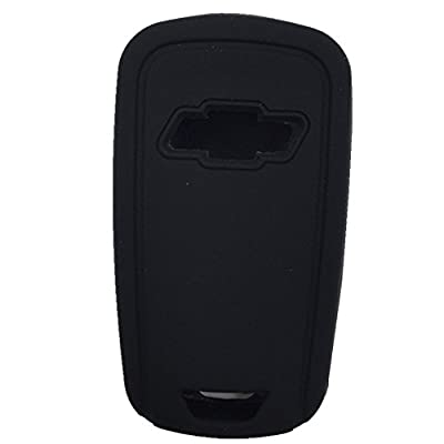 New Black 4 Buttons Key Cover for Flip Folding Key Case Cover Silicone cover for 2010 2011 2012 2013 2014 Chevrolet Camaro: Automotive