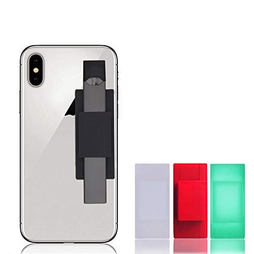 Swee Cell Phone Holder Compatible with JUUL (Case Only, No Device Included) Never Forget or Lose Your JUUL | Accessory Compatible with iPhone, Samsung Galaxy, Tablets, Car Dashboard (Black)