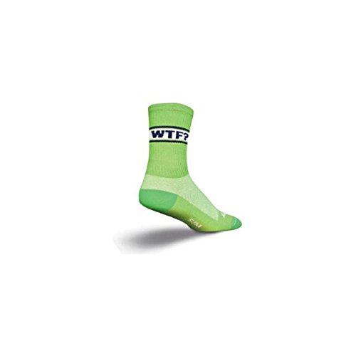 SockGuy Crew Alligator Sock: Green SM/MD