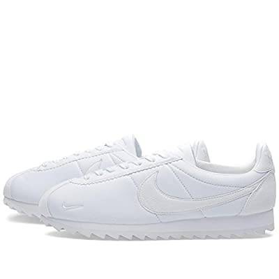 Nike Classic Cortez Shark Low SP - White/White-UK 11 / EU 46   Fashion Sneakers
