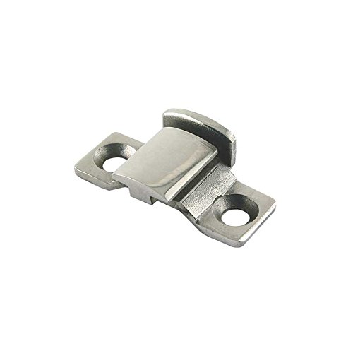 6129 Model A Ford Street Rod Hood Retainer - Front - Stainless Steel - For Style Center Hood Hinge ()