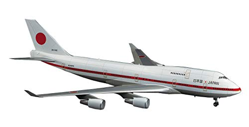 1/200 BOEING 747 -400 JAPANESE GOVERNMENT AIR TRANSPORT by Hasegawa