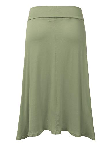 Buy long knit skirt with pockets