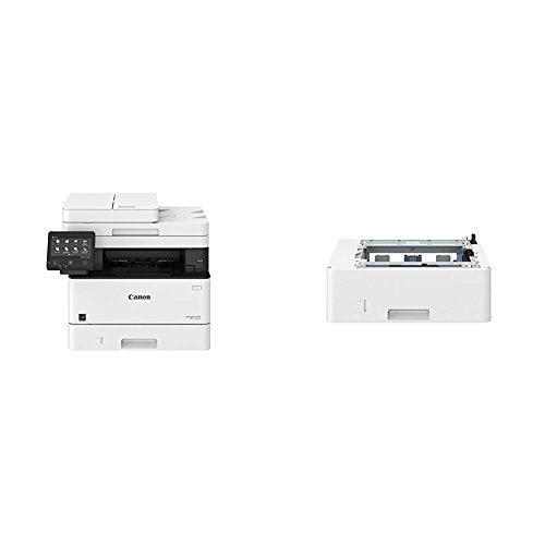 Canon Lasers MF424dw Monochrome Printer with Scanner Copier & Fax with additional paper tray for MF424DW, MF426DW, and LBP214DW ()