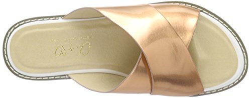 Another Pair of Shoes Sarak1 - Sandalias Mujer Dorado (Copper 109)