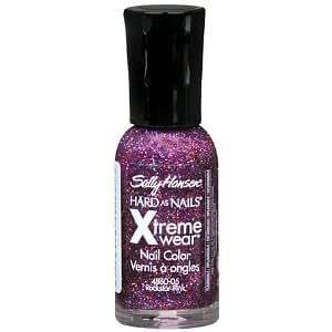 Sally Hansen Hard as Nails Xtreme Wear Nail Color, Rockstar Pink 0.4 fl oz (11.8 ml)